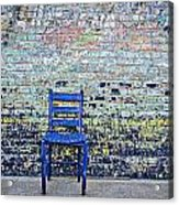 Have A Seat Acrylic Print by Kelly Kitchens