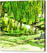 Have A Sit Down Acrylic Print
