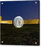 Having A Ball At The Fort Acrylic Print