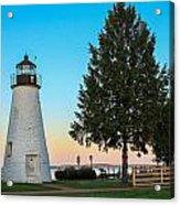 Concord Point Light ... Havre De Grace Md Acrylic Print