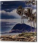 Hawaii Big Island Coastline V3 Acrylic Print