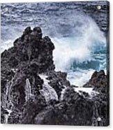 Hawaii Big Island Coastline V4 Acrylic Print