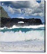 Hawaii Coastline Acrylic Print