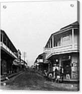 Hawaii: Honolulu, C1875 Acrylic Print