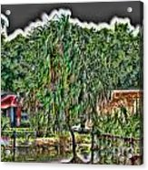 Hawaii Plantation Acrylic Print