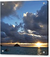 Hawaii Sunrise Acrylic Print