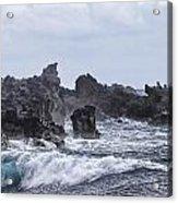 Hawaii Waves V1 Acrylic Print