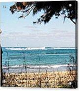 Hawaiian Beach Acrylic Print