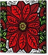 Hawaiian Christmas Joy Acrylic Print