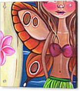 Hawaiian Fairy Acrylic Print