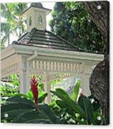 Hawaiian Gazebo Acrylic Print