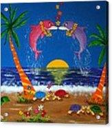 Hawaiian Island Love Acrylic Print