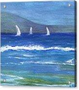 Hawaiian Sail Acrylic Print