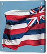 Hawaiian State Flag, Oahu, Hawaii Acrylic Print