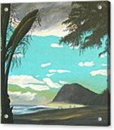 Hawaiian Sunset Acrylic Print