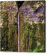 Hawaiian Waterfall Acrylic Print