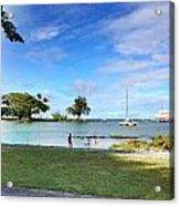 Hawaiian Landscape 6 Acrylic Print