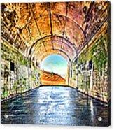 Hawk Hill Tunnel Acrylic Print