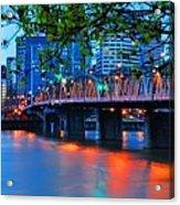 Hawthorne Bridge 22958 Acrylic Print