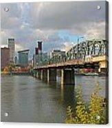 Hawthorne Bridge Portland 001 Acrylic Print