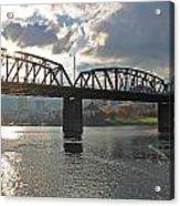 Hawthorne Bridge Portland 002 Acrylic Print
