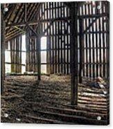 Hay Loft 2 Acrylic Print by Scott Norris