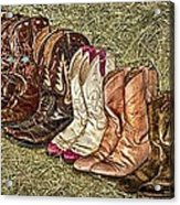 Boot Stomp Acrylic Print