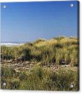 Haystack And Sea Grass Acrylic Print