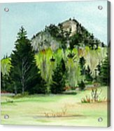 Haystack Mountain Castle Hill Me Acrylic Print