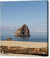 Haystack Rock 2 - Pacific City Oregon Coast Acrylic Print
