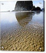 Haystack Rock At Cannon Beach Acrylic Print