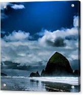 Haystack Rock IIi Acrylic Print