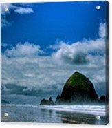 Haystack Rock V Acrylic Print
