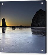 Haystack Rocks And The Needles At Cannon Beach Acrylic Print