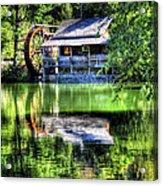 Haywood Cc Grist Mill Acrylic Print