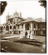 Hazel Hawkins Hospital Monterey Street Hollister California Circa 1907 Acrylic Print