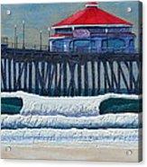 Hb Pier Acrylic Print