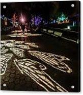 Hdr - Washington Dc National Zoo City Lights Three Acrylic Print