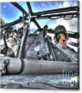 Hdr Image Of Pilots Equipped Acrylic Print