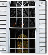 He Hears Our Prayers On Both Sides Of The Window Acrylic Print
