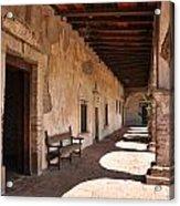 He Shall Rise Again, Mission San Juan Capistrano, California Acrylic Print