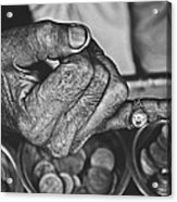 He Sold Coins And This Ring Acrylic Print
