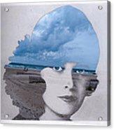 Full Of Ocean Acrylic Print