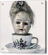 Head In Cup Acrylic Print