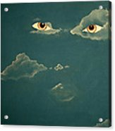 Head In The Clouds Acrylic Print by Corina Bishop