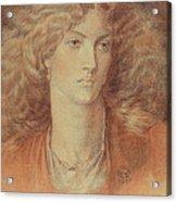 Head Of A Woman Called Ruth Herbert Acrylic Print