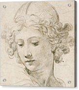 Head Of An Angel Acrylic Print