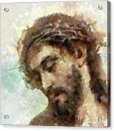 The Head Of Christ Acrylic Print