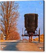 Headed Home Acrylic Print