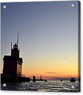 Heading Out Acrylic Print by Michelle Calkins